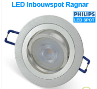 LED inbouwspots als badkamerverlichting of overkapping